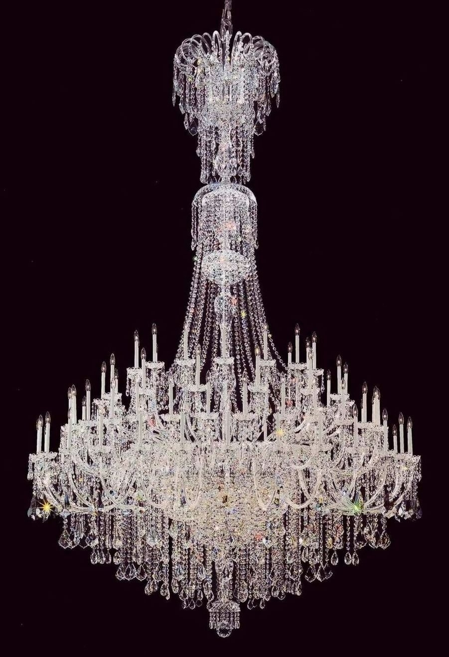 Antique Chandeliers Lighting Tiffany Windows Large Crystal Throughout Expensive Chandeliers (#1 of 12)