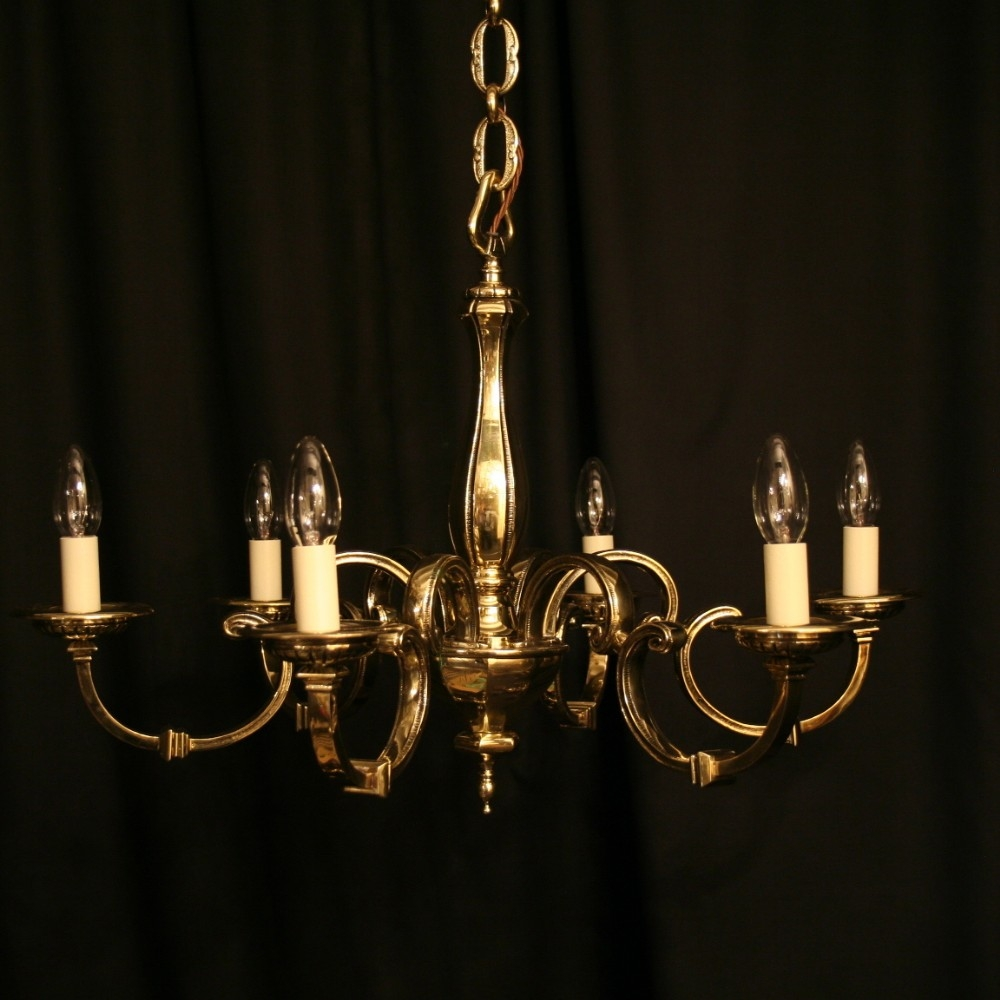 Antique Chandeliers Uk Antique Furniture In Old Brass Chandelier (#3 of 12)