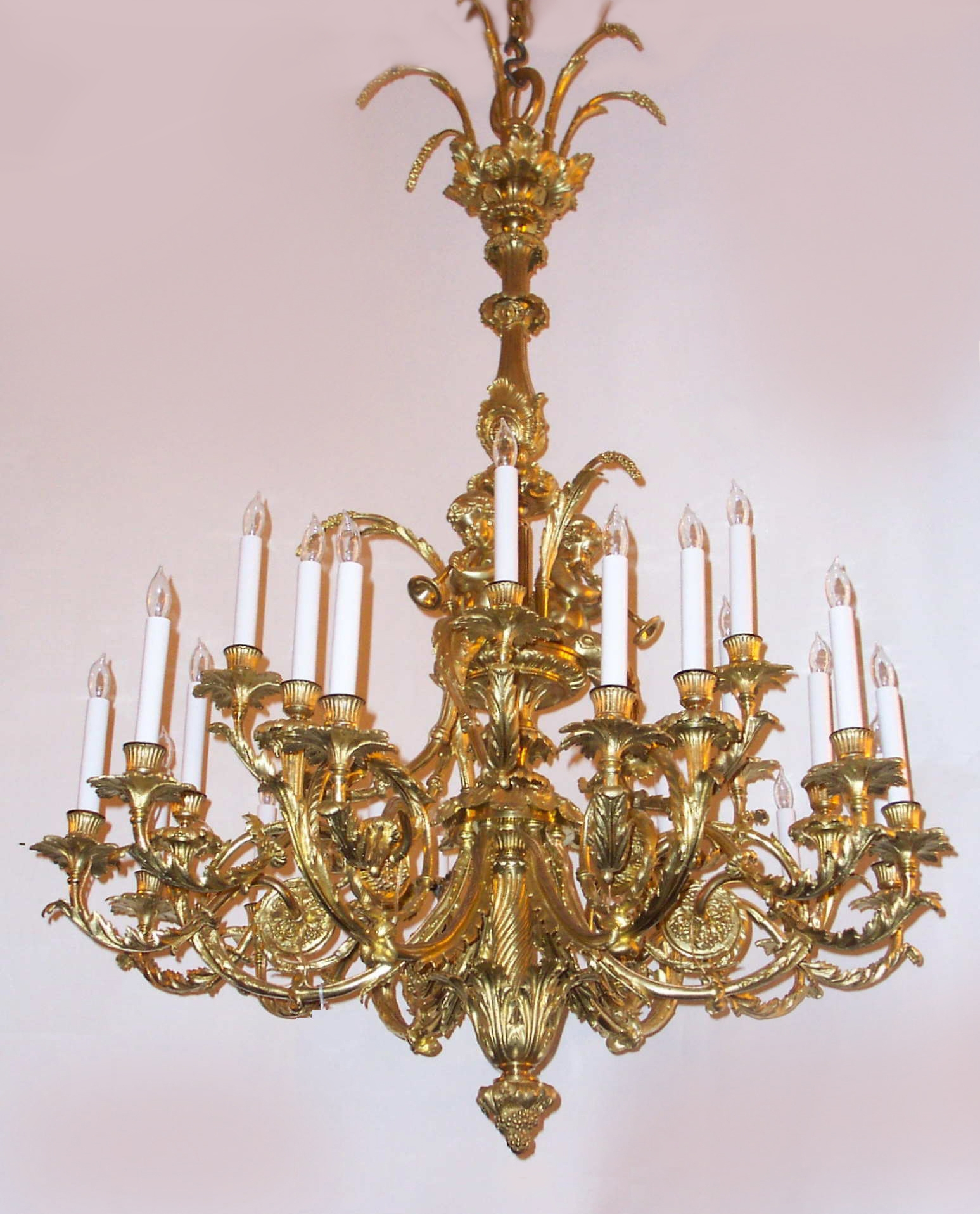 12 Inspirations Of French Bronze Chandelier