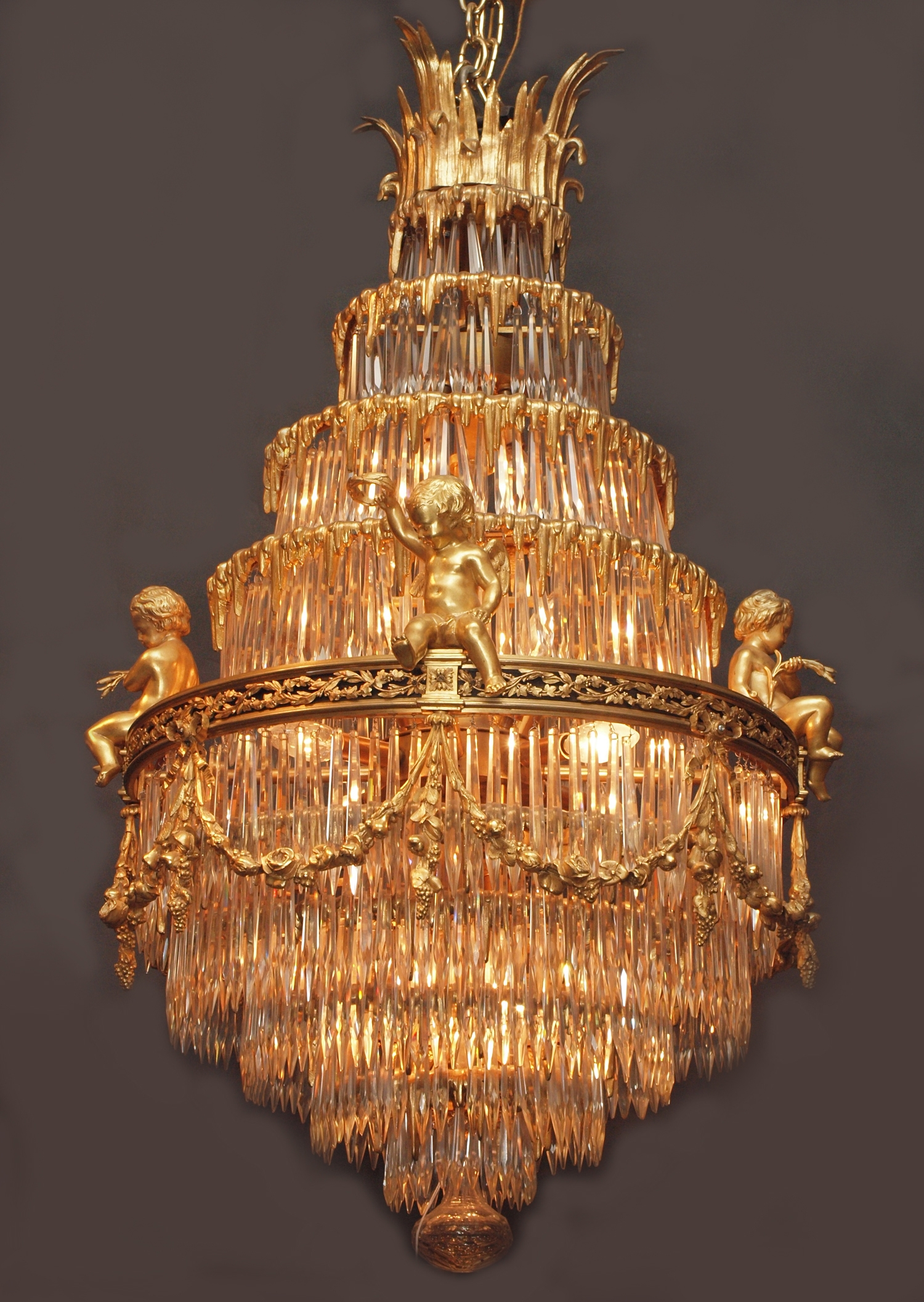 Antiques Classifieds Antiques Antique Lamps And Lighting Inside Antique Chandeliers (#7 of 12)