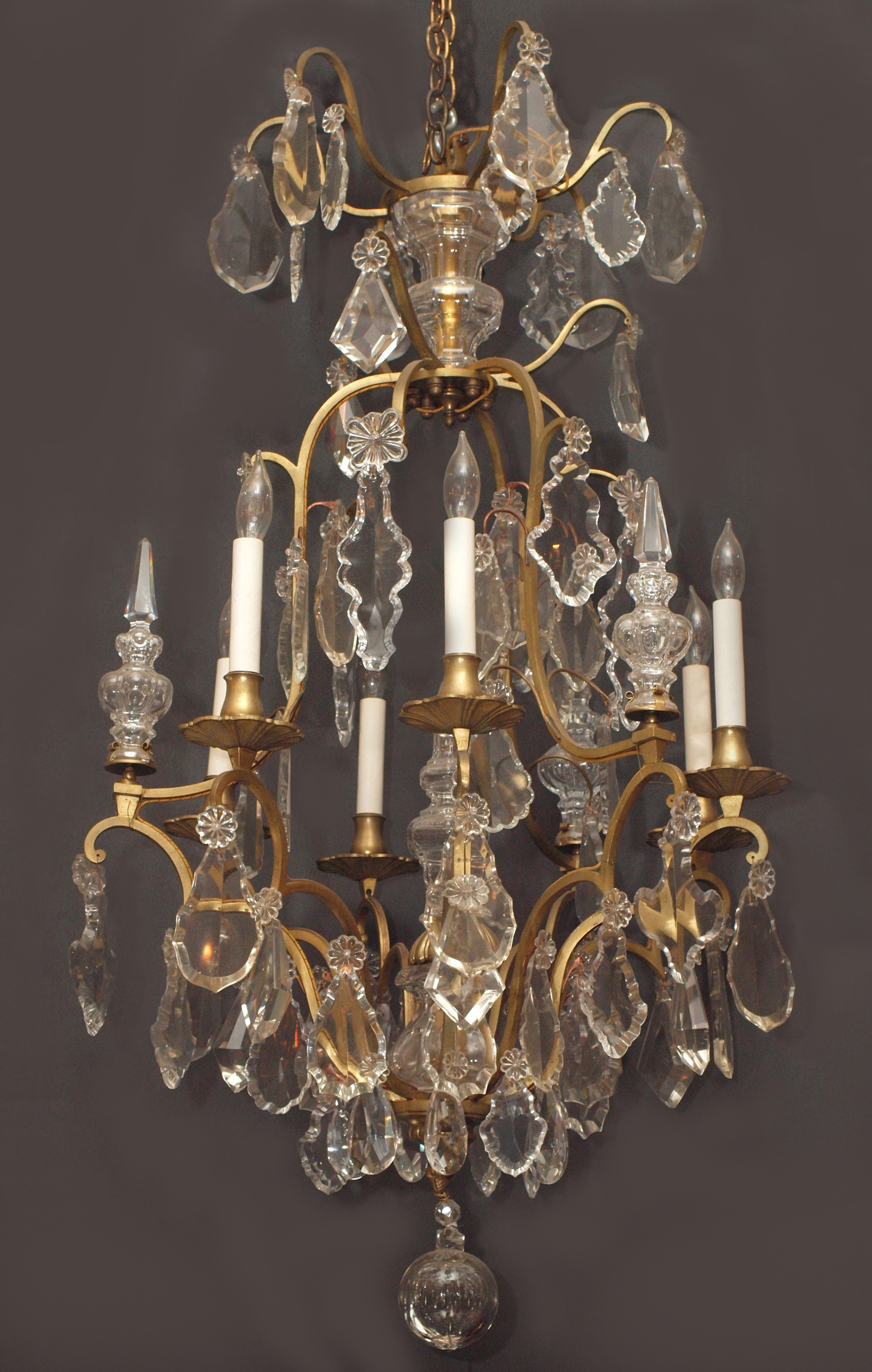 Antiques Classifieds Antiques Antique Lamps And Lighting With French Chandeliers (#1 of 12)