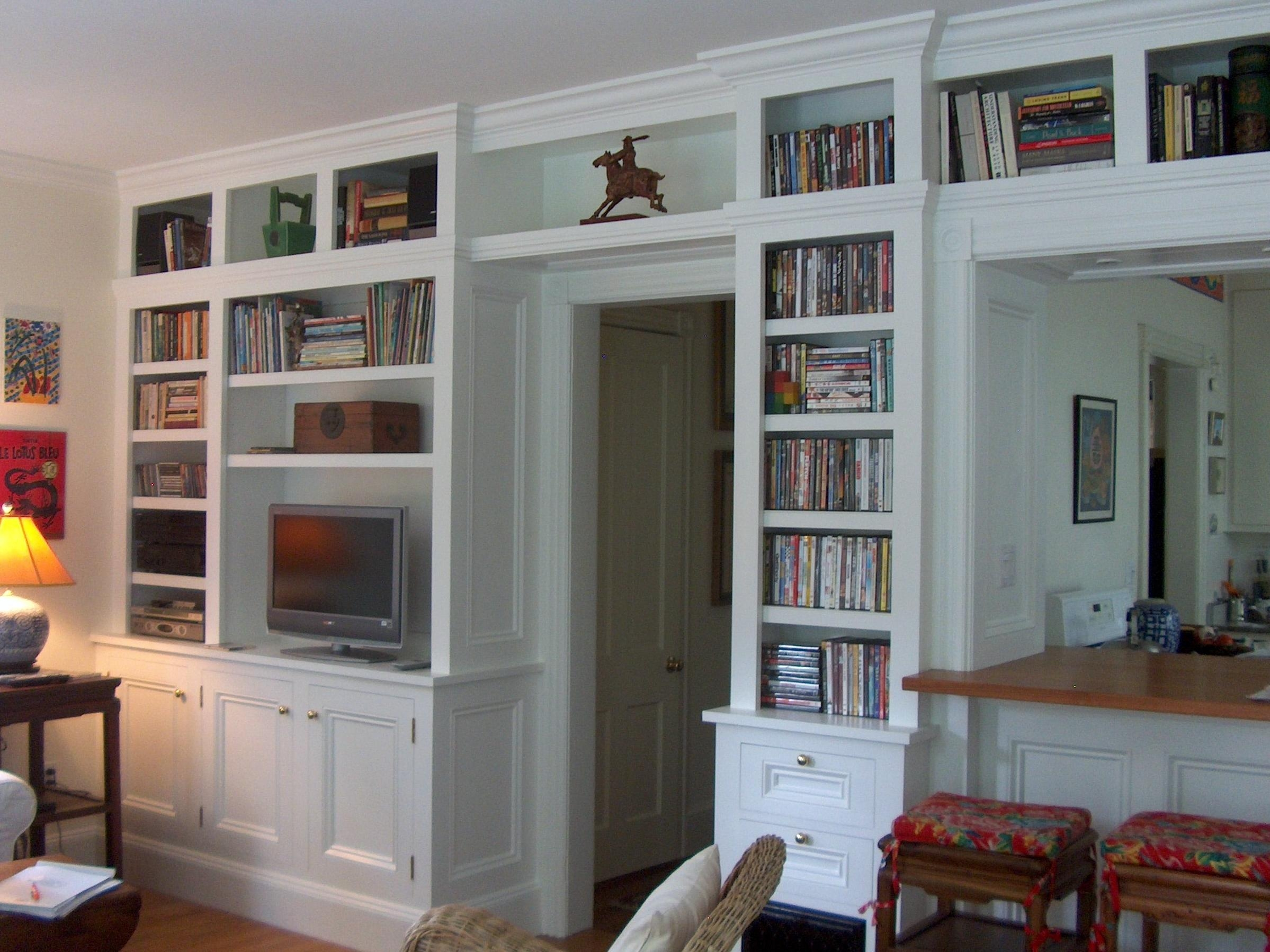 Appealing Built In Bookcase Kits 40 Built In Bookcase Kits Custom Inside Built In Bookshelf Kits (View 1 of 15)