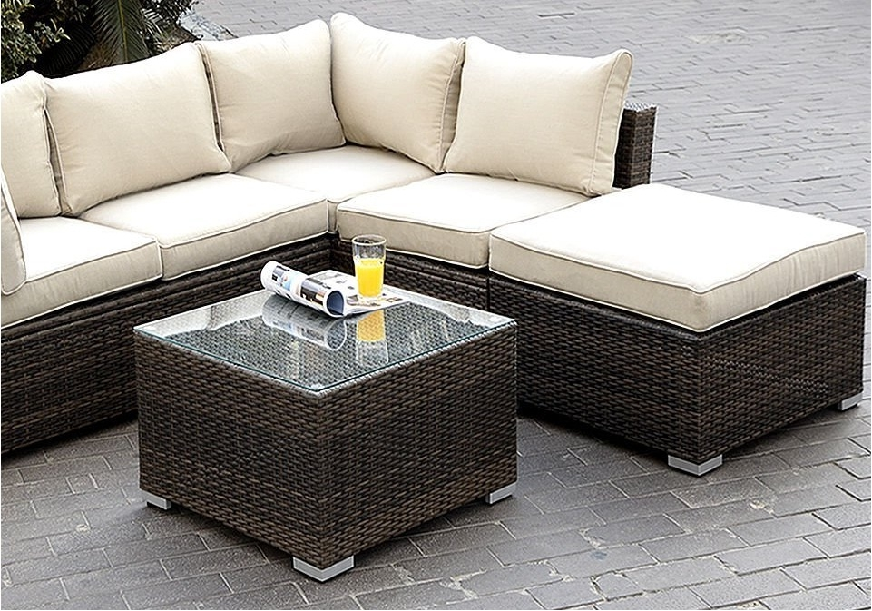 Appealing Outdoor Patio Furniture Sectional Design Cheap Outdoor For Cheap Patio Sofas (#1 of 15)