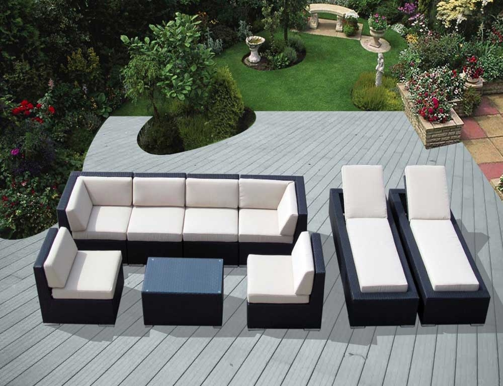 Appealing Outdoor Patio Furniture Sectional Design Cheap Outdoor With Cheap Patio Sofas (#2 of 15)