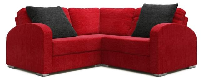 Arc 2×2 Corner Sofa For Small Rooms Nabru Intended For 2×2 Corner Sofas (View 6 of 15)