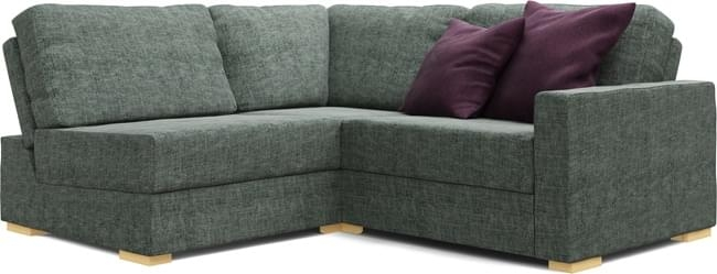 Arc 2×2 Corner Sofa For Small Rooms Nabru Regarding 2×2 Corner Sofas (View 2 of 15)