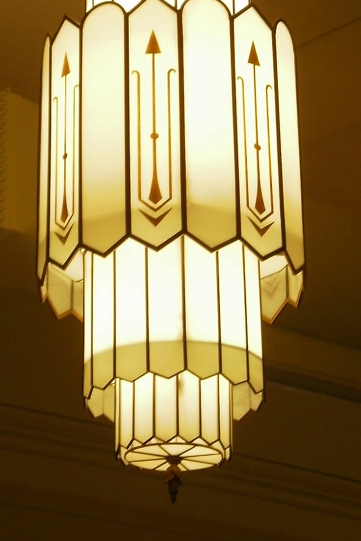 Popular Photo of Art Deco Chandelier
