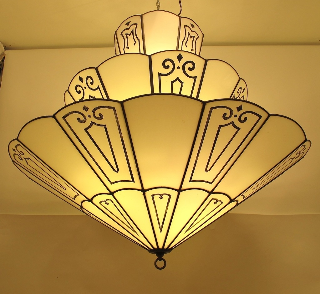 Art Deco More Art Deco Period Ideas Intended For Large Art Deco Chandelier (#6 of 12)