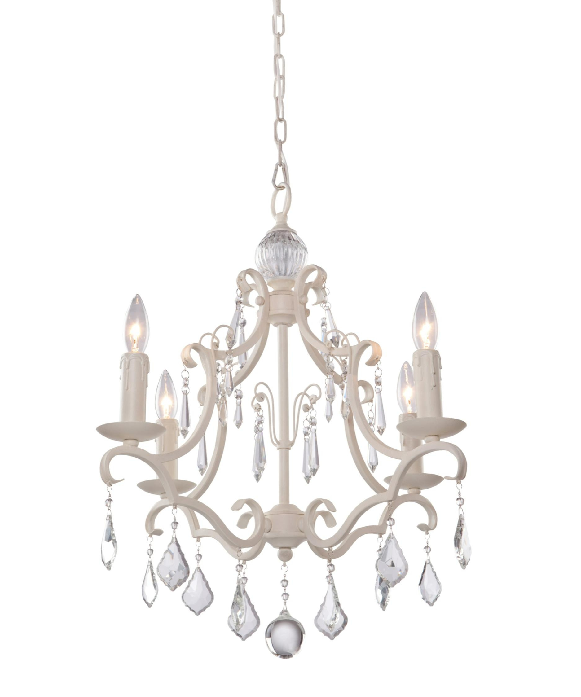 Artcraft Cl1574 Vintage 17 Inch Wide 4 Light Mini Chandelier For Chandeliers Vintage (#2 of 12)