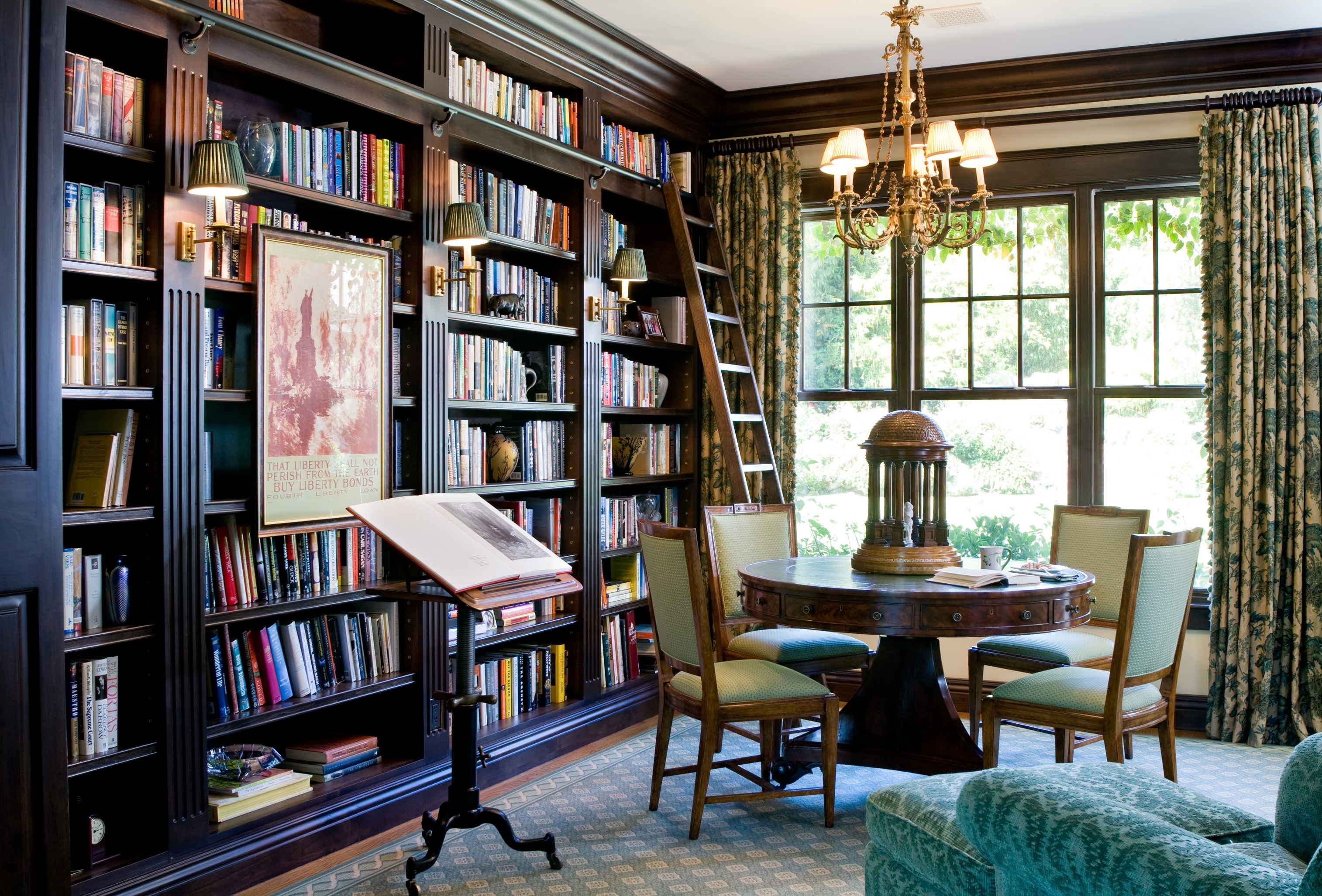 Artfully Styled Bookcases Inside Wall To Wall Bookcases (#1 of 15)