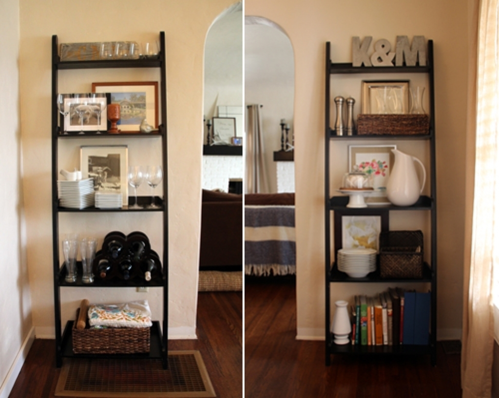 Asymmetrical Semi Backless Bookcase In Cappuccino Modern Backless For Backless Bookshelves (#6 of 15)