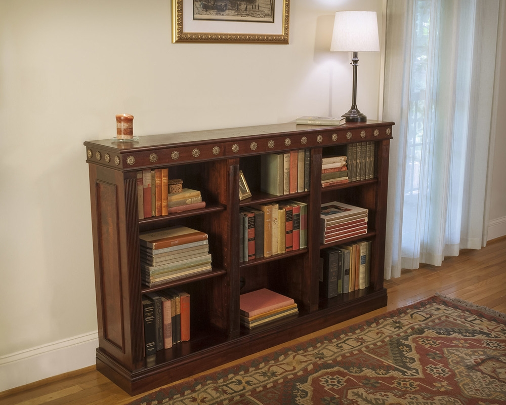 Atlanta Ga Custom Bookcase Library Design Atlanta Custom Inside Traditional Bookshelf (View 4 of 15)