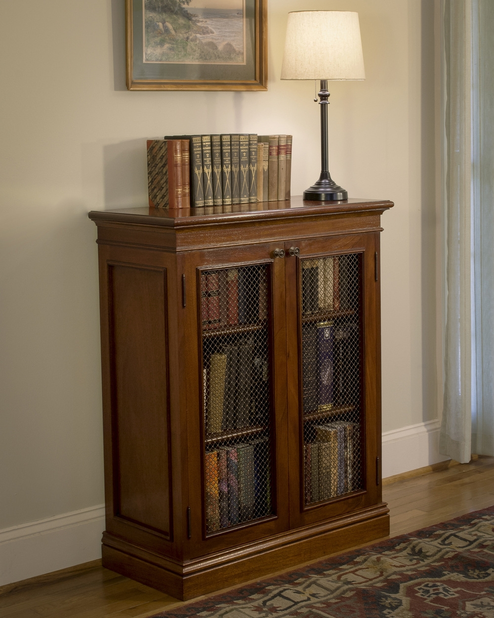 Atlanta Ga Custom Bookcase Library Design Atlanta Custom Within Traditional Bookshelf (View 5 of 15)