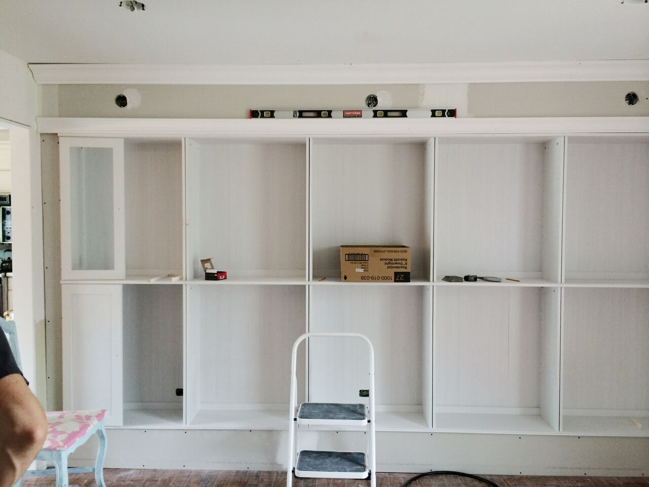 Avery Street Design Blog Diy Summer School Ikea Hack Built In With Bookcase With Cupboard Base (#2 of 15)