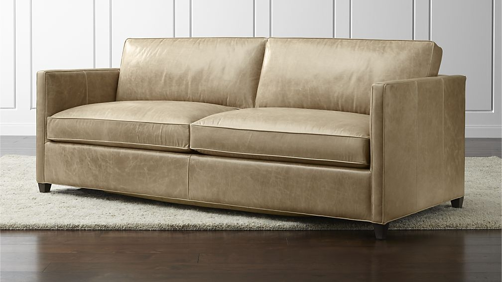 Awesome Light Tan Leather Sofa With Stunning Light Tan Leather Inside Light Tan Leather Sofas (View 5 of 15)