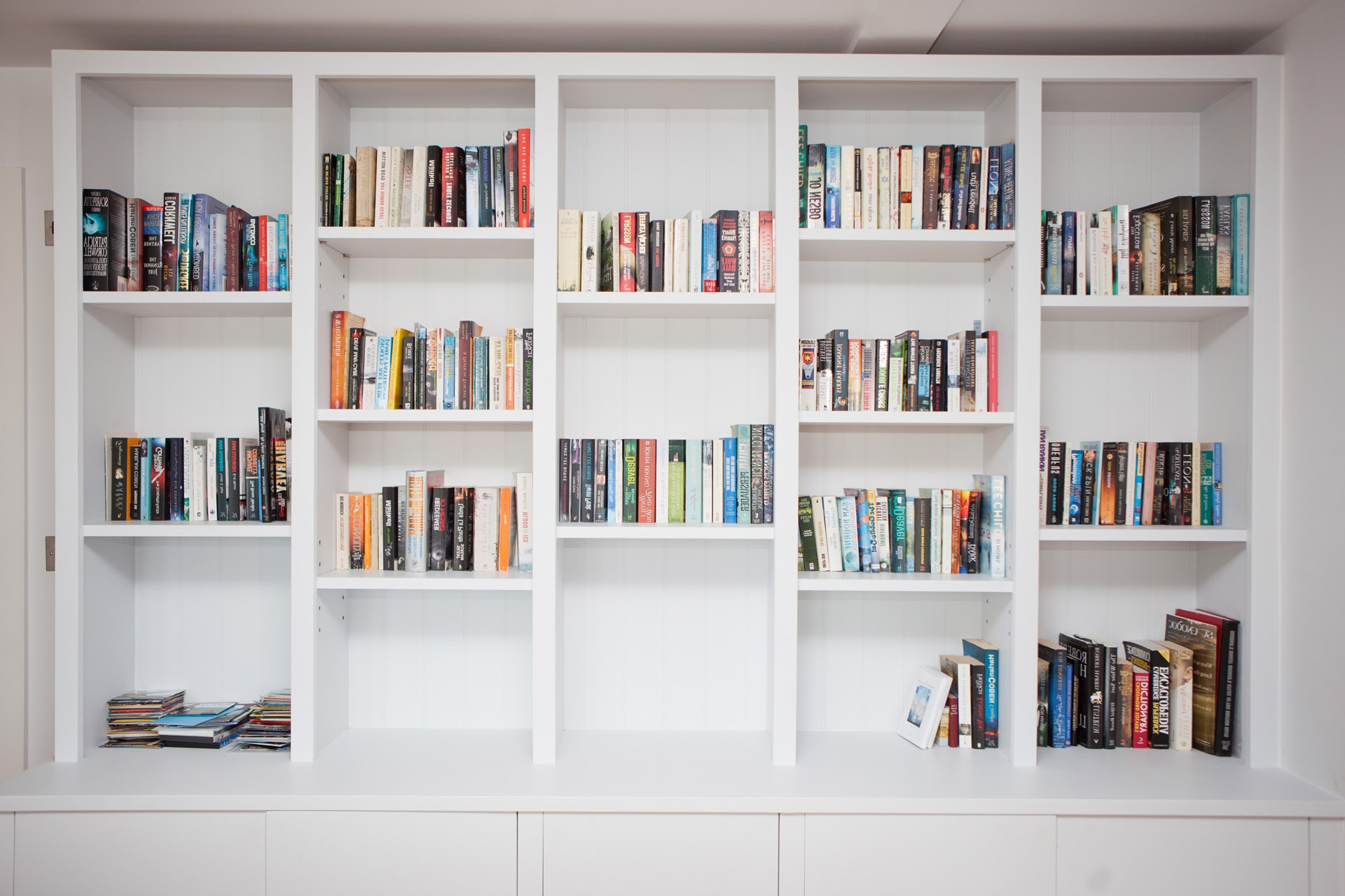 Awesome Sample For Fitted Bookshelves Camer Design With Fitted Book Shelves (#2 of 15)