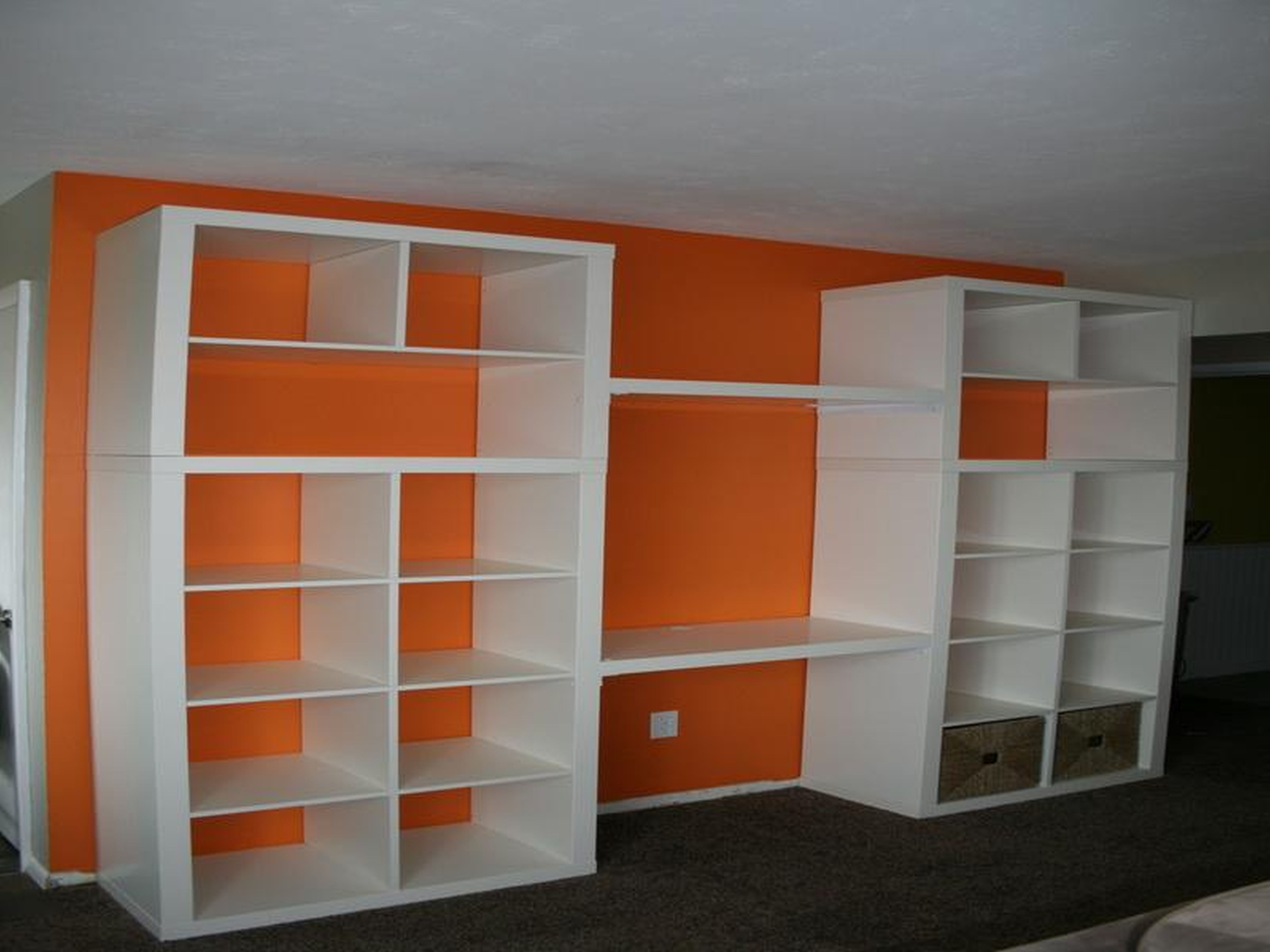 Ba Nursery Teen Room Storage Furniture Free Standing Wood Throughout Large Bookcase Plans (View 2 of 15)