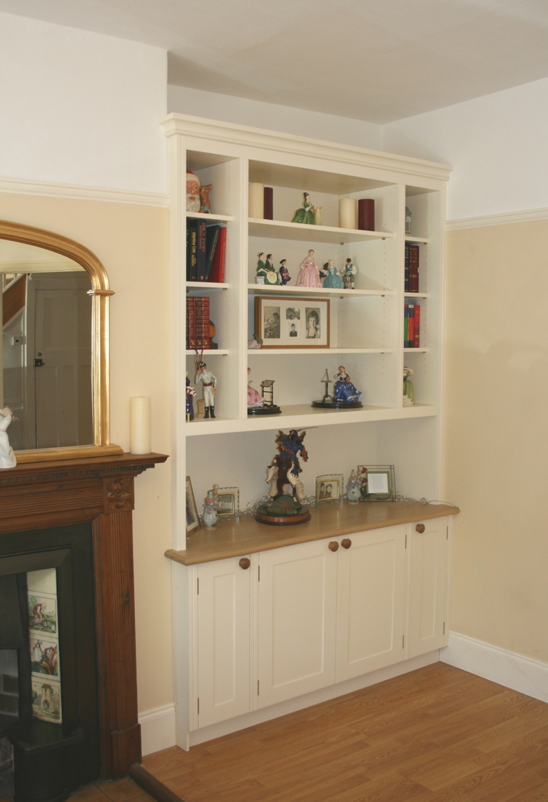 Back To Alcove Unit Living Room Pinterest Alcove Living Throughout Fitted Living Room Cabinets (#1 of 15)