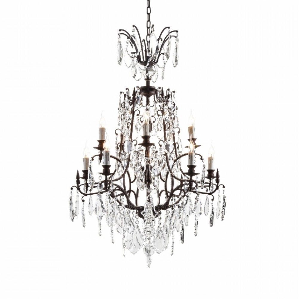 Baroque Chandelier Halo Living In Baroque Chandelier (#2 of 12)