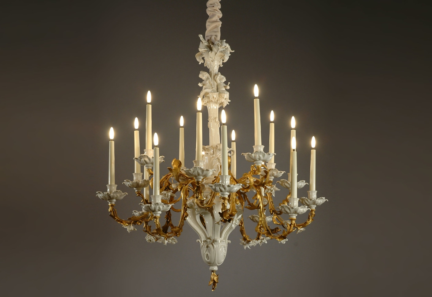 Popular Photo of Baroque Chandelier