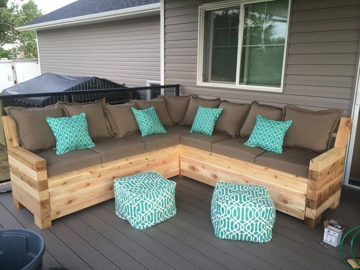Beautiful Small Outdoor Patio Sectional Outdoor Patio Furniture With Cheap Patio Sofas (#4 of 15)