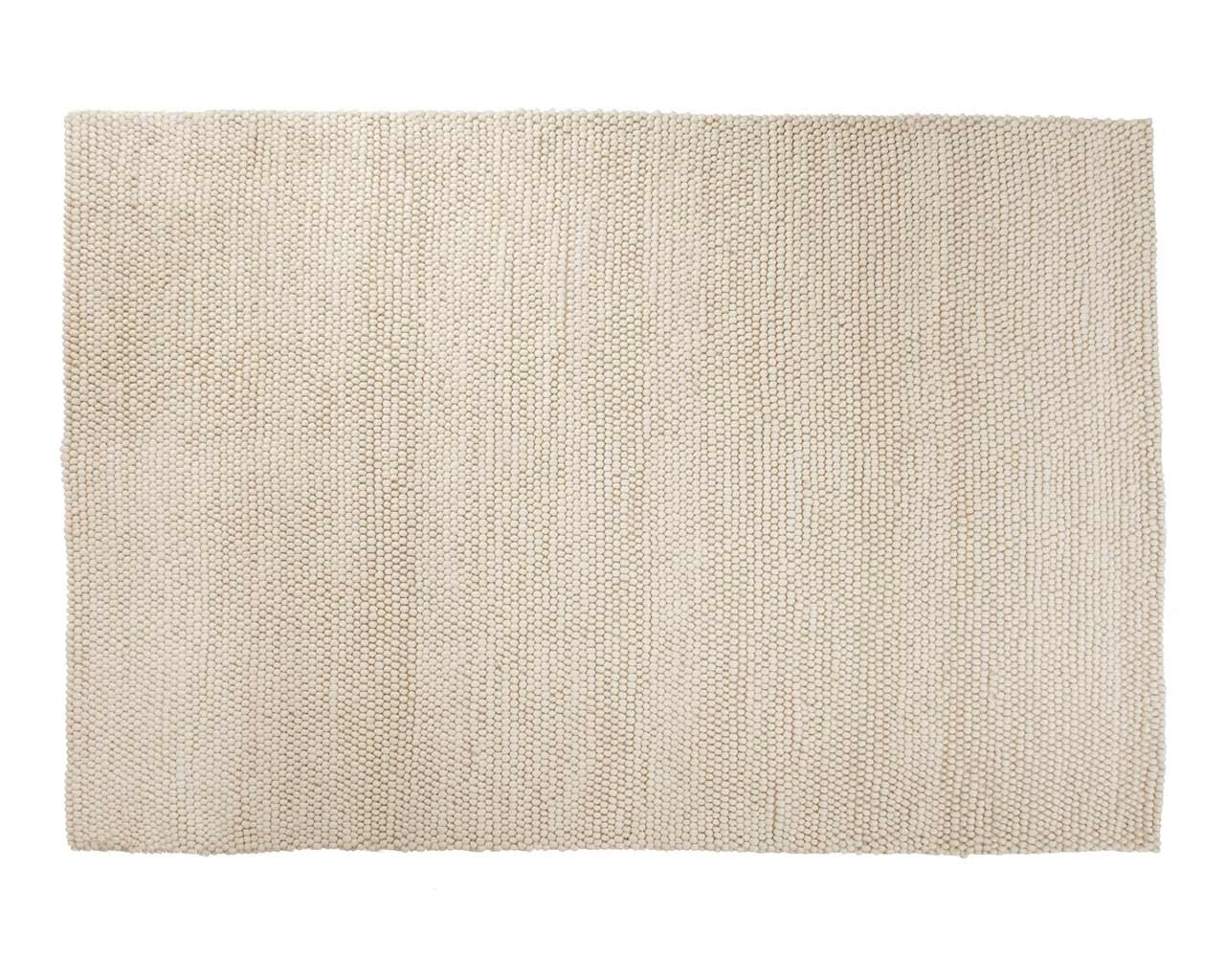 Beautiful White Woolen Rug Handmade In India Fair Trade Large Regarding Large Wool Area Rugs (#5 of 15)