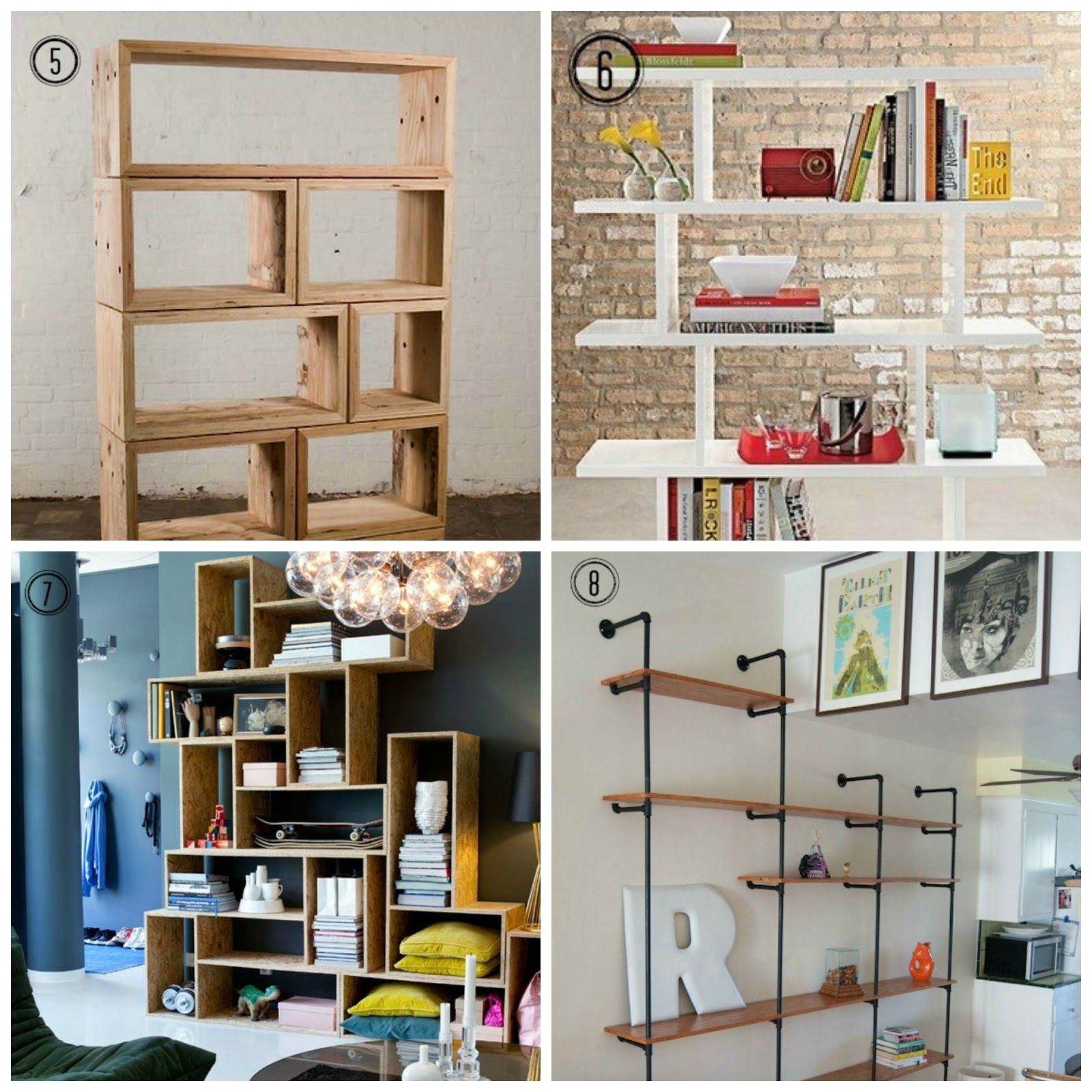 15 Inspirations Of Full Wall Shelving Units