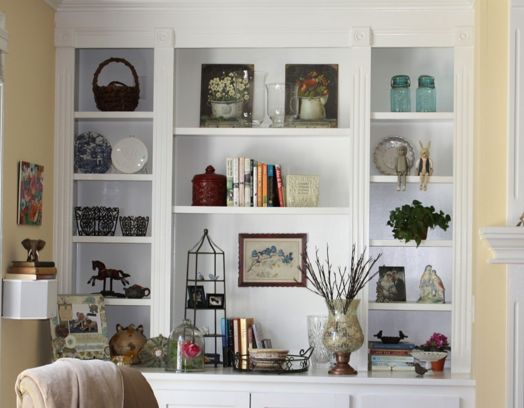 15 Inspirations Of Full Wall Shelving Units