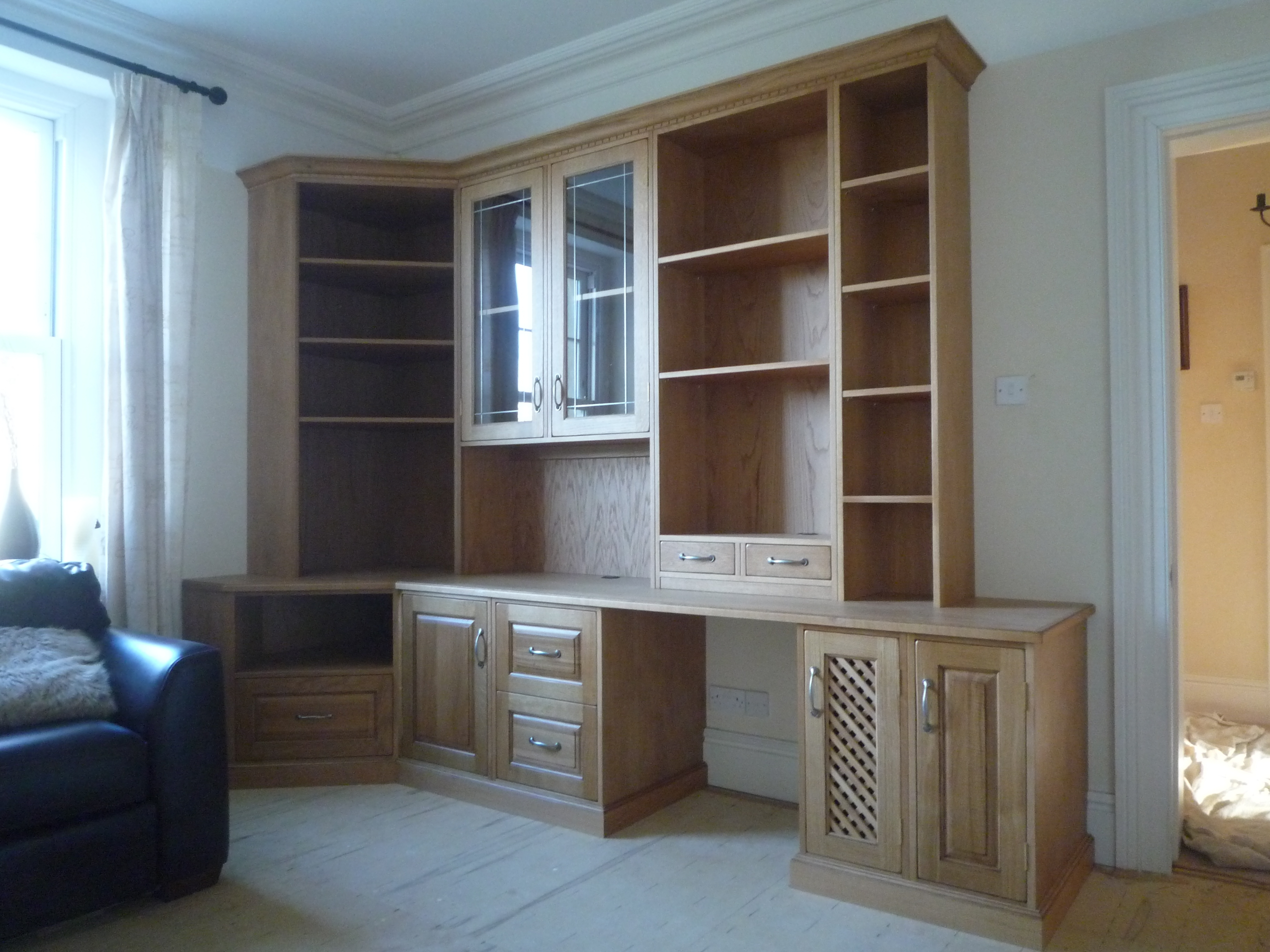 Bedrooms Kitchens Bookcases Alcove Units Home Office Fitted Within Bespoke Study Furniture (#2 of 15)