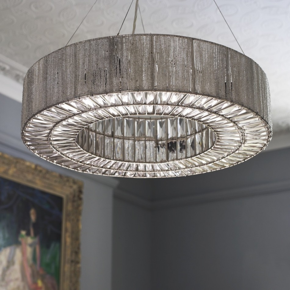 Bejeweled Silver Deco Inspired Beatrice Chandelier With Its Within Extra Large Chandelier Lighting (#2 of 12)