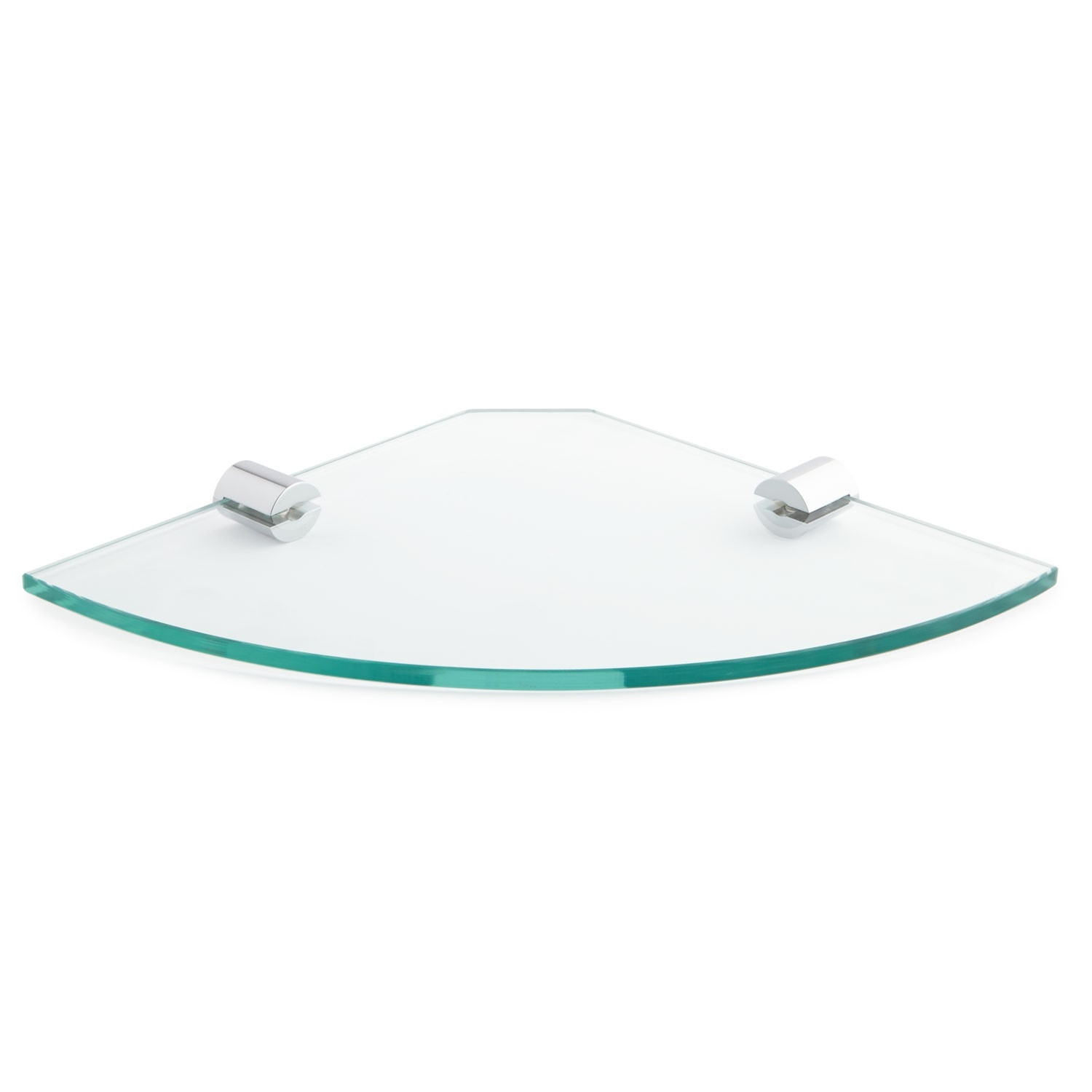 Bennie Tempered Glass Corner Shelf Bathroom With Regard To Glass Corner Shelves (#2 of 12)