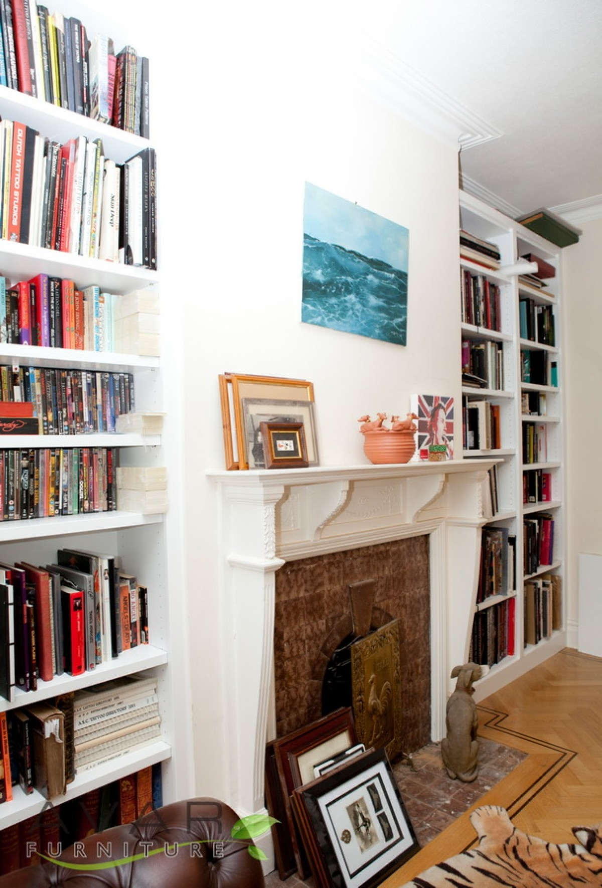Bespoke Bookcase Ideas Gallery 1 North London Uk Avar For Fitted Bookcase (#1 of 15)