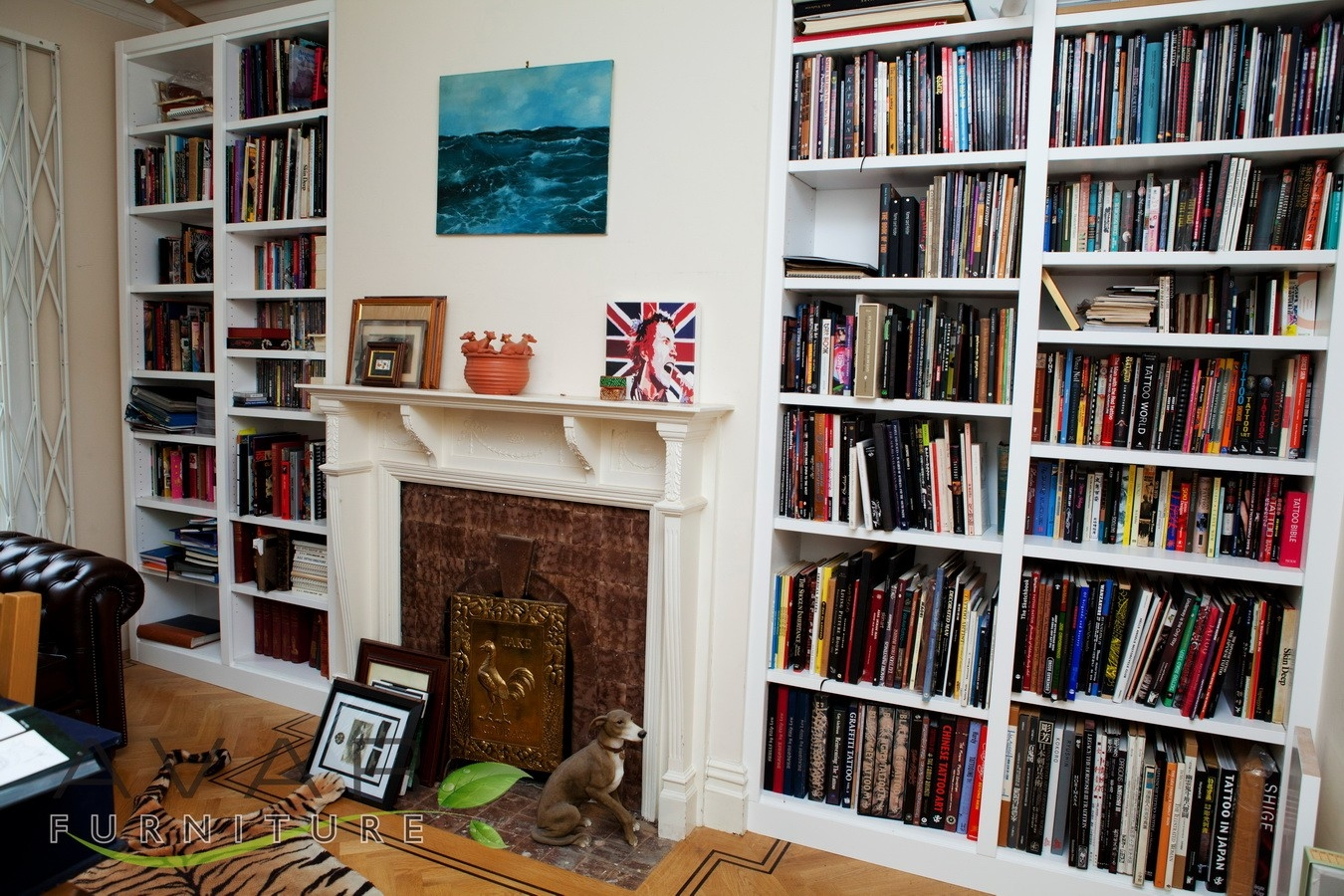 Bespoke Bookcase Ideas Gallery 1 North London Uk Avar With Regard To Bespoke Shelving (#3 of 15)