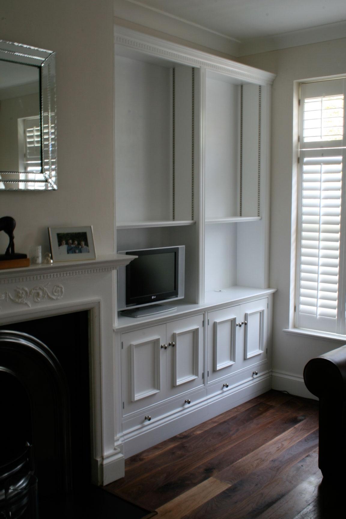 Bespoke Cabinetry Bookcases Desks Cabinet Makers Intended For Bespoke Tv Unit (#3 of 15)
