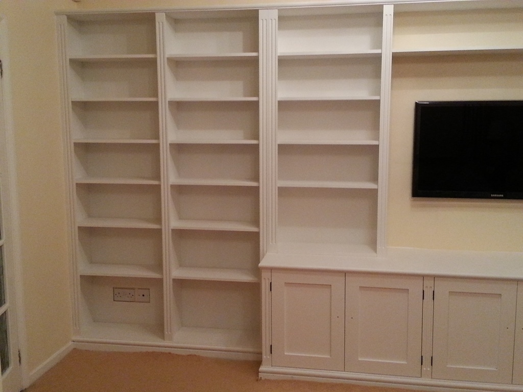 Bespoke Cupboards Bookcases Cabinets Nk West Carpentry Pertaining To Bespoke Cupboards (#3 of 12)