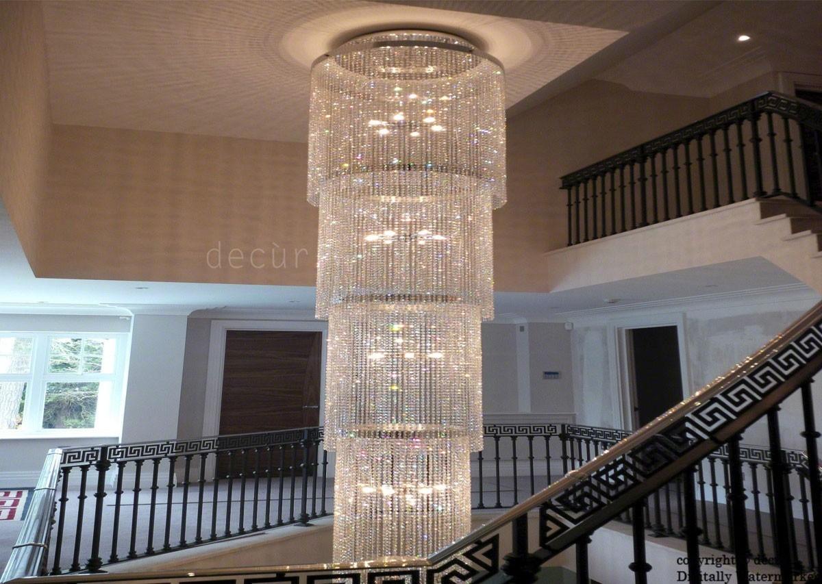Bespoke Designer Sofas Footstools Bespoke Footstools Bespoke Inside Stairwell Chandeliers (#2 of 12)