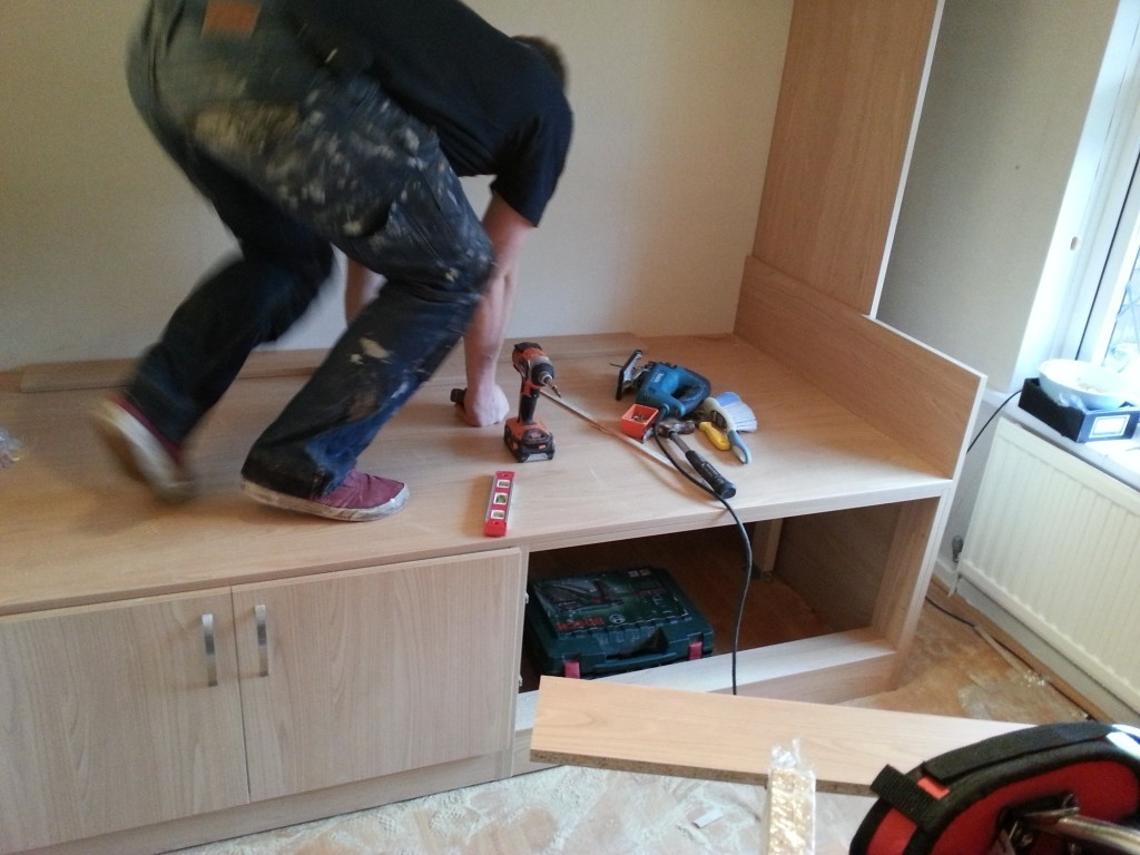 Bespoke Fitted Furniture For A Box Room With Regard To Bespoke Built In Furniture (View 6 of 15)
