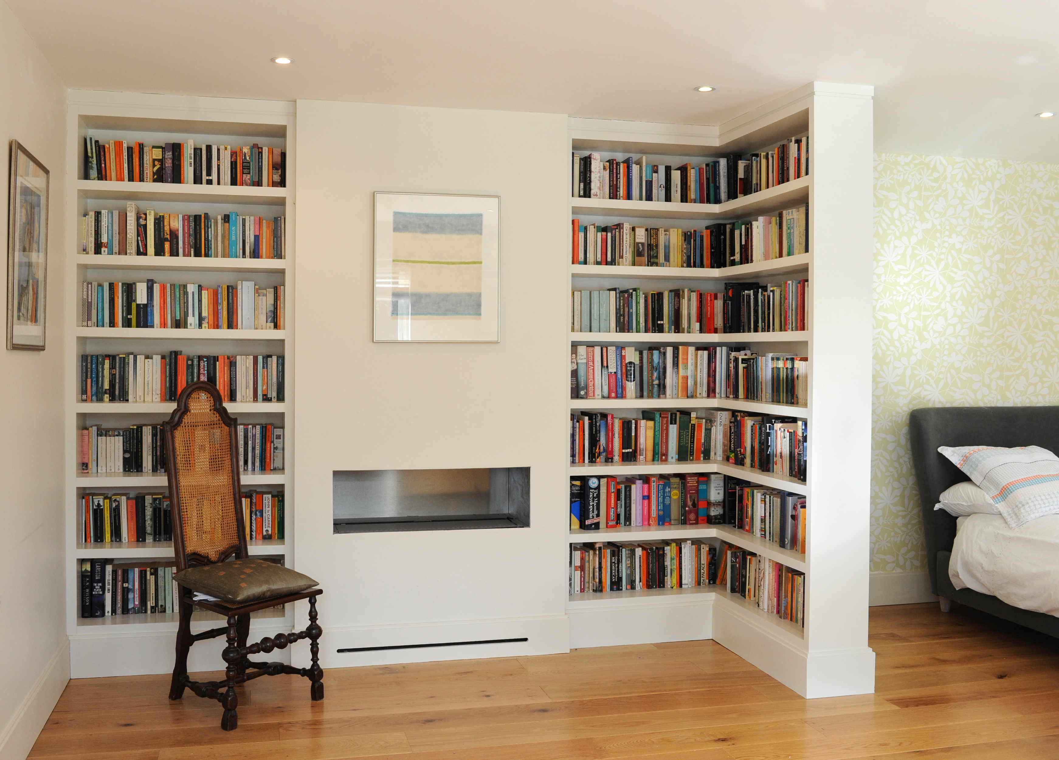 Bespoke Living Room Lounge Furniture James Mayor Intended For Fitted Bookcase (#2 of 15)