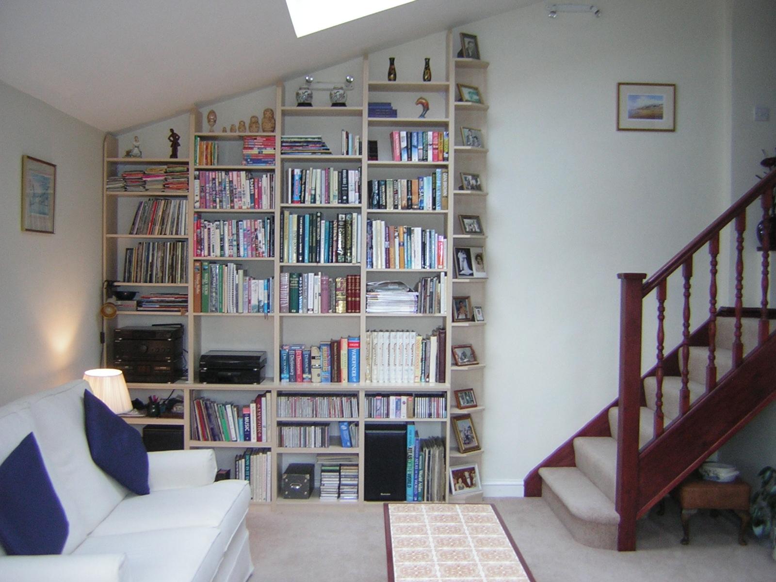 Bespoke Shelving London Bespoke Bookcases And Bookshelves Shelvex Inside Bespoke Bookcases (#7 of 15)