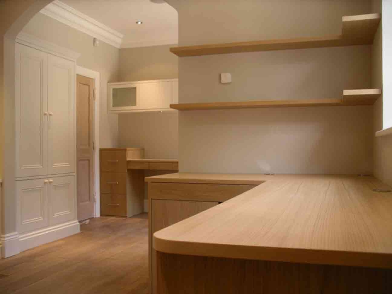Bespoke Studies Peter Henderson Furniture Brighton Uk In Fitted Study Furniture (#2 of 15)