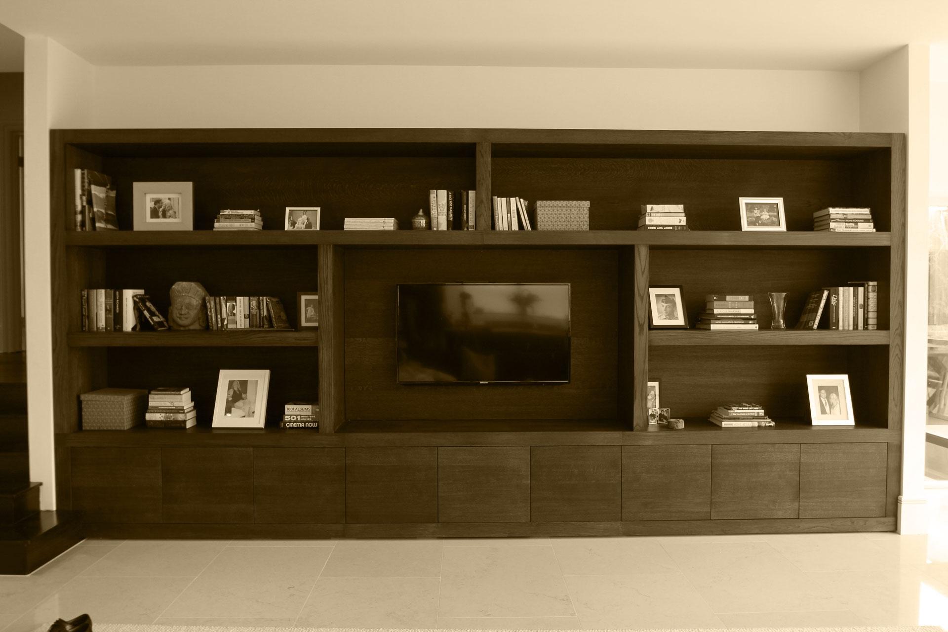 Bespoke Tv Media Units Furniture Design In Surrey For Bespoke Tv Unit (#5 of 15)