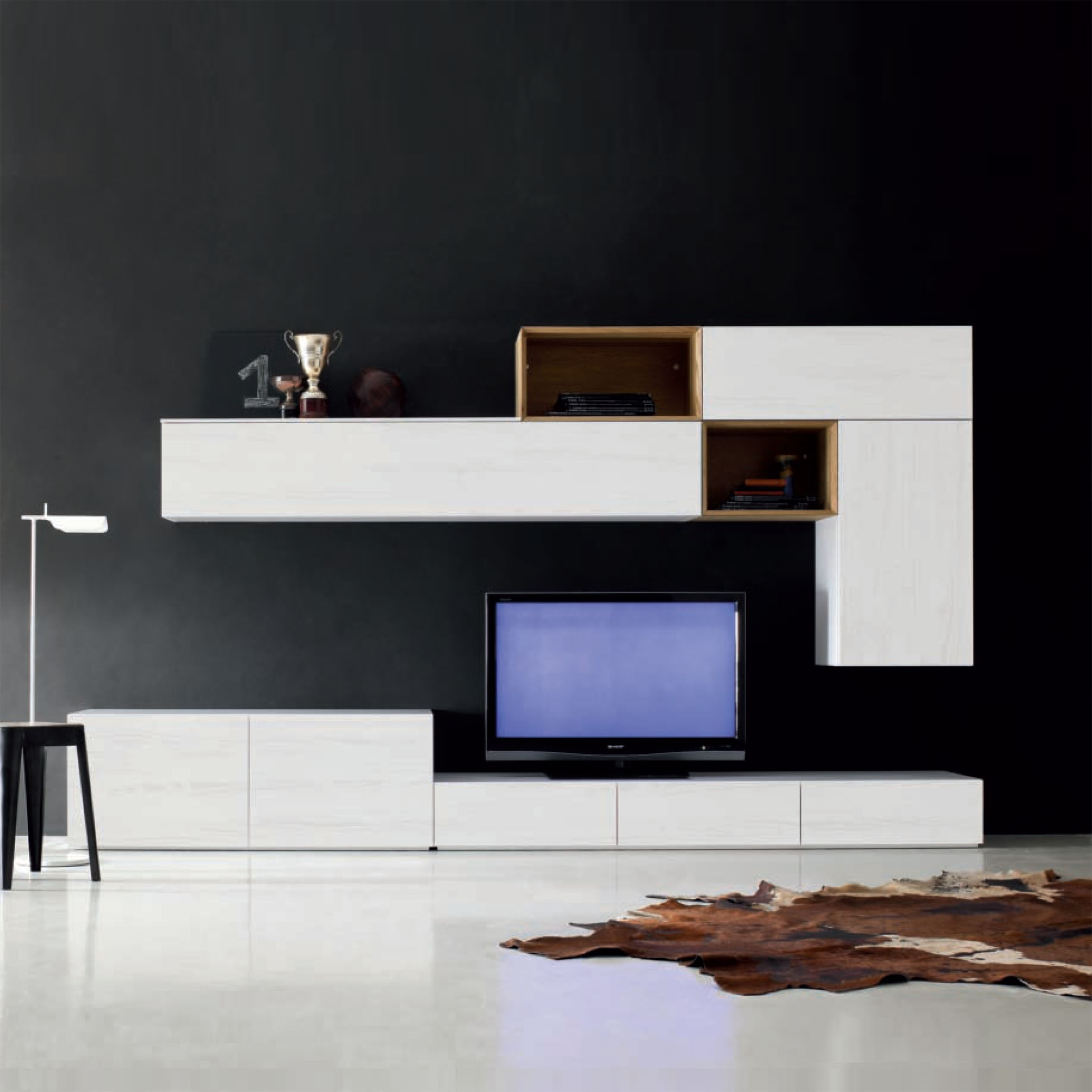 Bespoke Tv Units Wall Storage Systems My Italian Living Ltd With Bespoke Tv Stand (View 6 of 15)