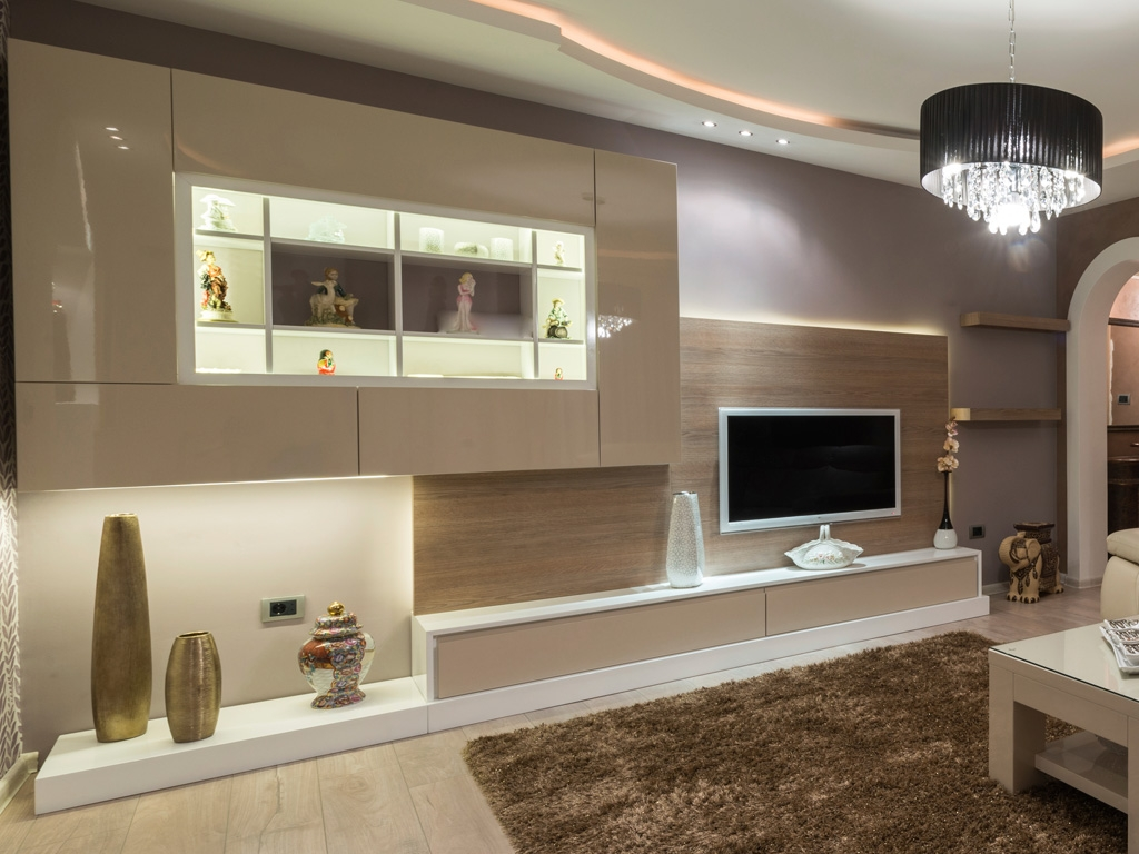 Bespoke Tv Units With Led Lights Bespoke Furniture Fitted Pertaining To Bespoke Tv Cabinet (View 6 of 15)