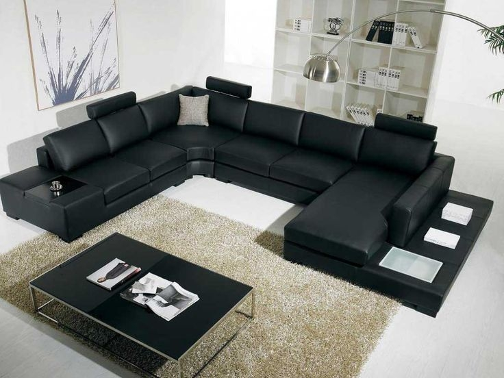 Best 10 Contemporary Sleeper Sofas Ideas On Pinterest Modern Inside Black Leather Sectional Sleeper Sofas (#2 of 15)