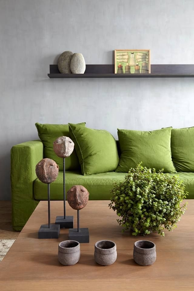 Best 10 Green Couch Decor Ideas On Pinterest Green Sofa Velvet With Green Sofa Chairs (View 13 of 15)