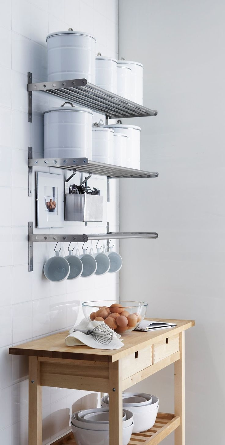 Best 10 Kitchen Wall Shelves Ideas On Pinterest Open Shelving With Kitchen Wall Shelves (#3 of 12)