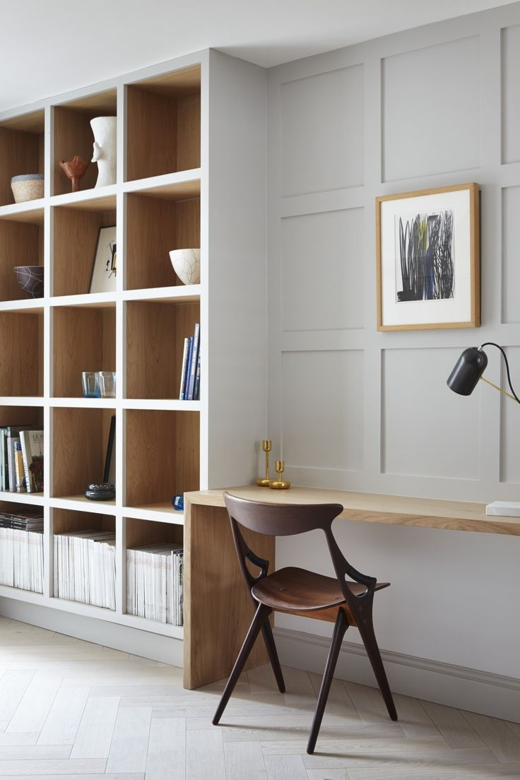 Best 20 Built In Shelves Ideas On Pinterest Intended For Desk With Matching Bookcase (#3 of 15)