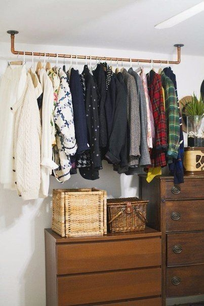 Best 20 Hanging Clothes Racks Ideas On Pinterest Hanging Inside Wardrobe Hangers Storages (#3 of 15)