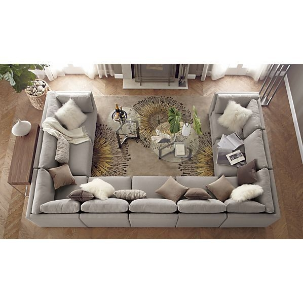 Best 20 Large Sectional Ideas On Pinterest Large Sectional Sofa Within 2 Seat Sectional Sofas (#1 of 15)