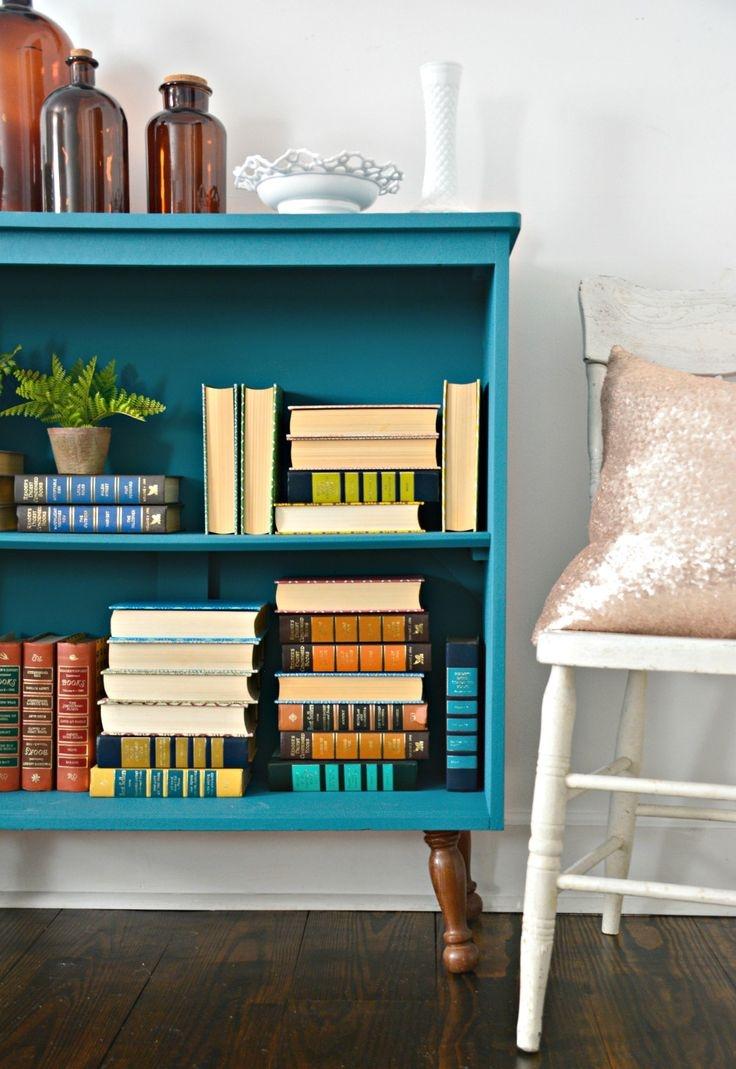Best 20 Paint Bookshelf Ideas On Pinterest With Painted Bookshelf (#3 of 15)